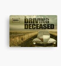 Driving Deceased Canvas Print
