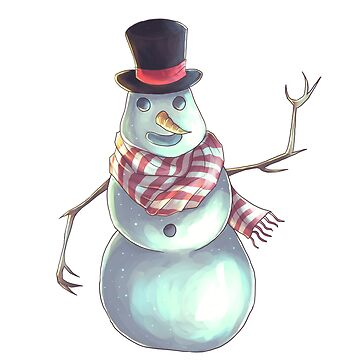 Snowman  by Darthblueknight