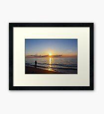 Yogi Sunrise Framed Print