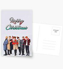 BTS Bangtan Christmas Holiday Edit  Postcards