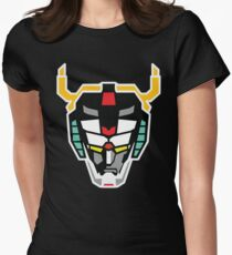 Voltron (Flat) Womens Fitted T-Shirt