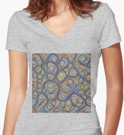 Stones #DeepDream Fitted V-Neck T-Shirt