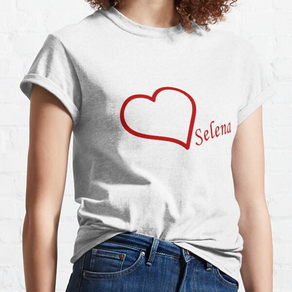 Love Selena Gomez Classic T-Shirt