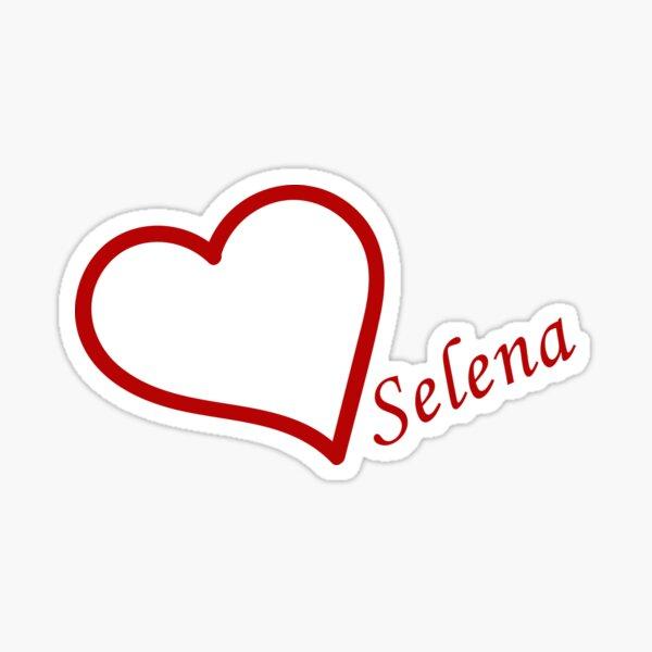 Love Selena Gomez Sticker
