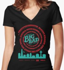 Big Bad Sunnydale Women's Fitted V-Neck T-Shirt