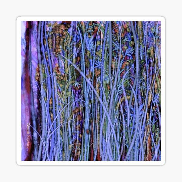 Qualia's Grass (Dreamy Blue) Sticker