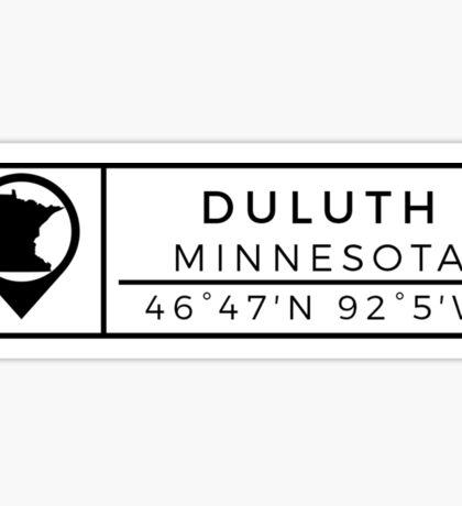 Duluth Minnesota Sticker