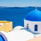 Santorini, Greek Islands by Melissa Fiene