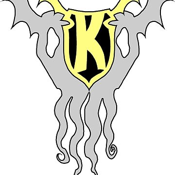 Kid Kthulu Emblem Shirt  #1 by tnperkins