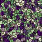 Fractal Gems 02 - Purples and Greens by charmarose