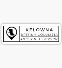 Kelowna Sticker