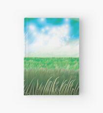 """The Great Grass Ocean"" Hardcover Journal"