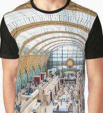 Musée d'Orsay, Paris Graphic T-Shirt