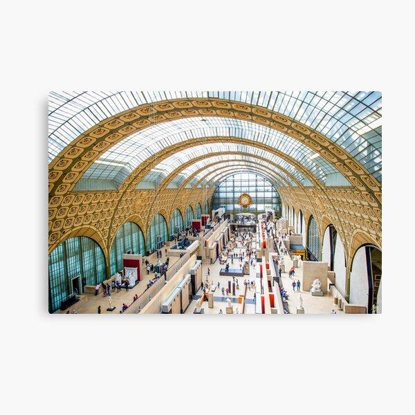 Musée d'Orsay, Paris Canvas Print