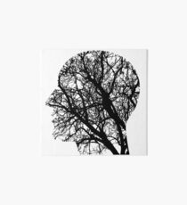 Human Nervous System As Tree Art Board