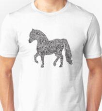 Bye Bye Lil Sebastian Calligram // Parks & Recreation Unisex T-Shirt
