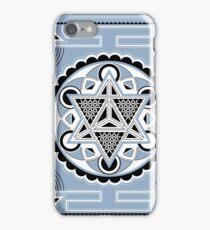 SACRED GEOMETRY - METATRONS CUBE - MERKABA - FLOWER OF LIFE - SPIRITUALITY iPhone Case/Skin