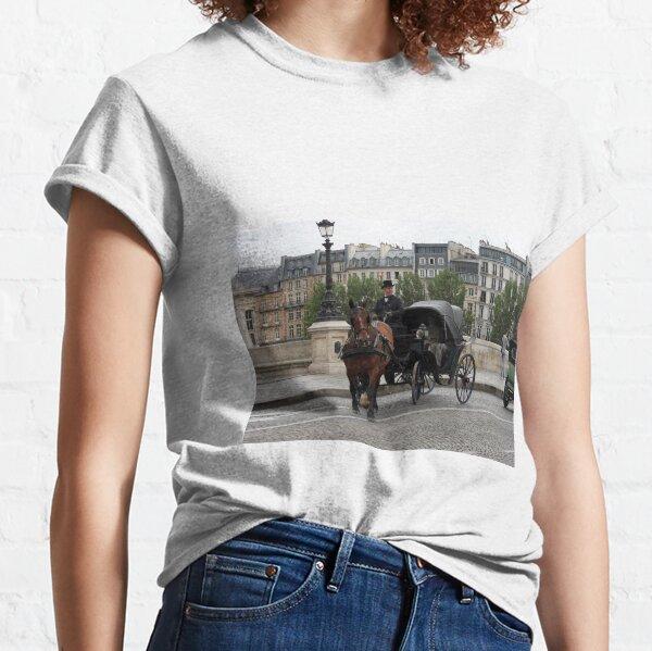 Paris in retro style Classic T-Shirt
