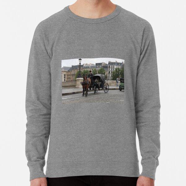 Paris in retro style Lightweight Sweatshirt