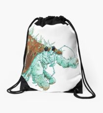 The Scuttle-Crab Drawstring Bag