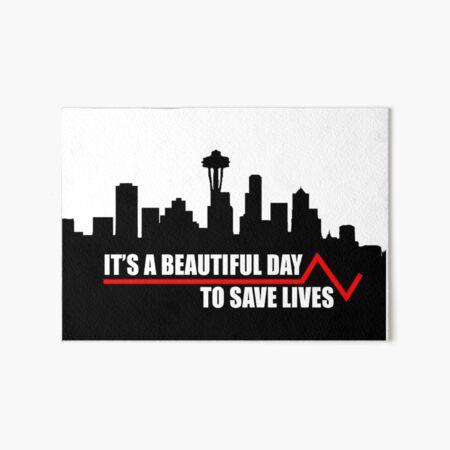 Leben retten. Galeriedruck