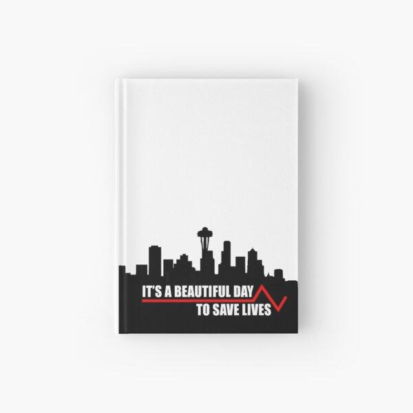 Save lives. Hardcover Journal