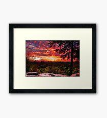 Virginia Kendall Overlook 2 Framed Print