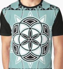 SACRED GEOMETRY - SEED OF LIFE - FLOWER OF LIFE - SPIRITUALITY Graphic T-Shirt