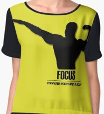 Focus Conquer your Mind and Body v2 Women's Chiffon Top