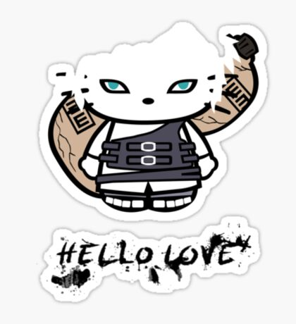 Hello Love Sticker