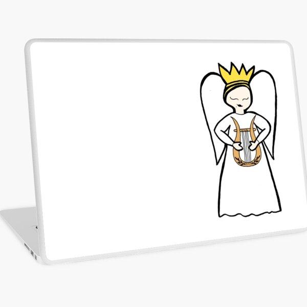 Angel Lyre Laptop Skin