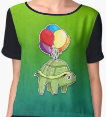 Turtle - Balloon Fun Women's Chiffon Top