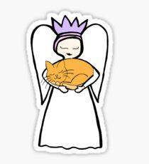 Angel Cat the second Sticker