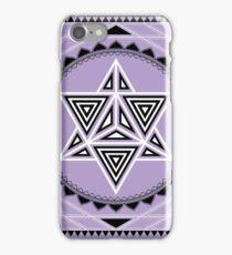 SACRED GEOMETRY - MERKABA - METATRONS CUBE - FLOWER OF LIFE - SPIRITUALITY iPhone Case/Skin