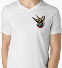 Swallow Tattoo Flash Logo Mens V-Neck T-Shirt