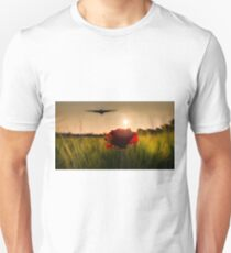 Vulcan Sunset For The Delta Lady Unisex T-Shirt