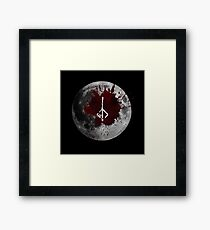 Bloodmoon Framed Print