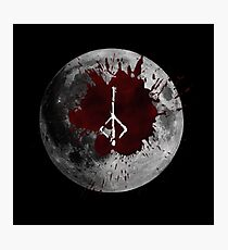 Bloodmoon Photographic Print