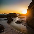 Streams of Squeaky Beach by Daniel Berends