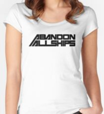 abandon Women's Fitted Scoop T-Shirt