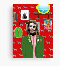 Wes Anderson Canvas Print