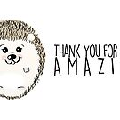 Thank you for being Amazing by Cyndiee Ejanda