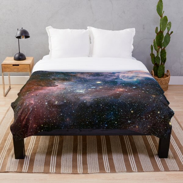 Galaxy - Nebula 01 Throw Blanket