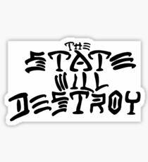 The State Sticker