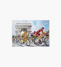 Froome in Yellow TDf 2016 Stage 21 Art Board