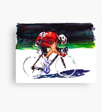 At The Front, TDF Canvas Print