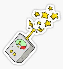 cartoon scientific equipment Sticker