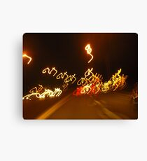 M's Bicycling Canvas Print