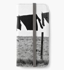 Clothesline in Ouessant iPhone Wallet/Case/Skin