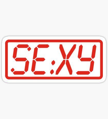 Sexy Time Sticker